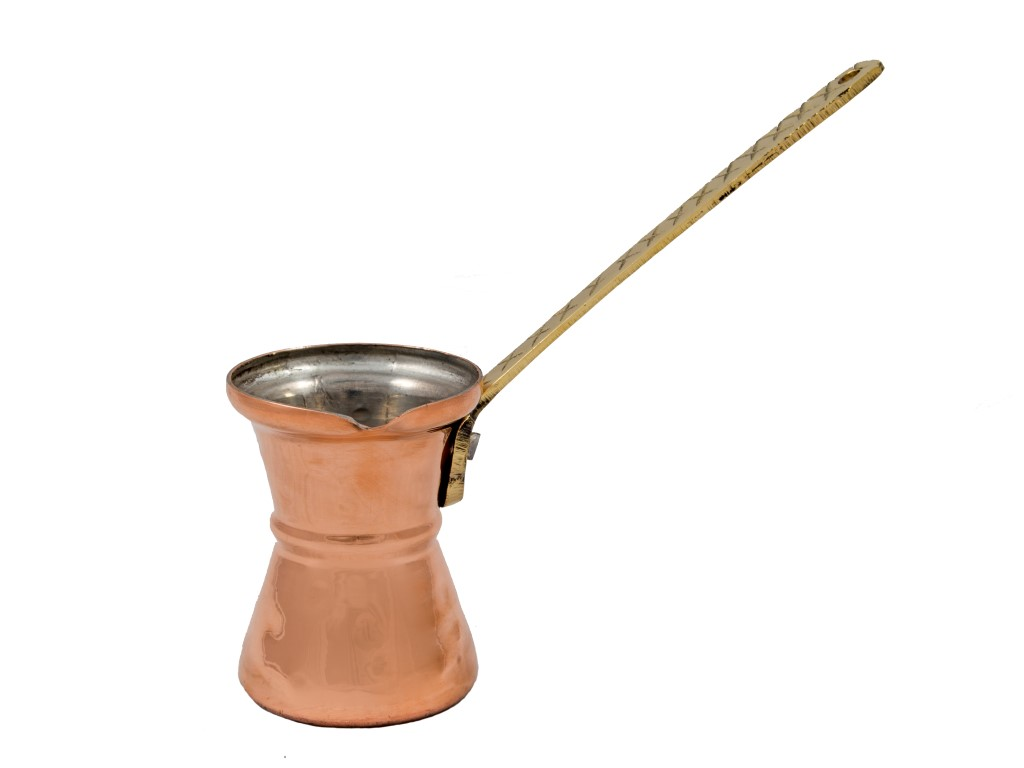 Copper Items - Copper Coffee pot hammered