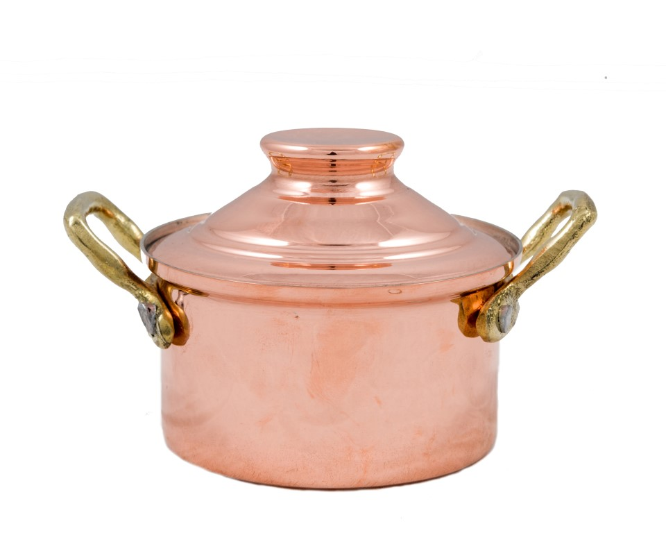 Copper Items - Copper Mini Sauce Pots