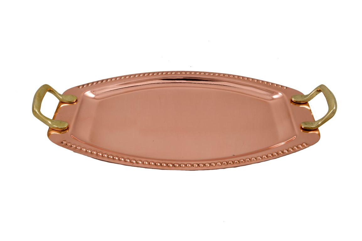 Copper Items - Copper Oval Tray