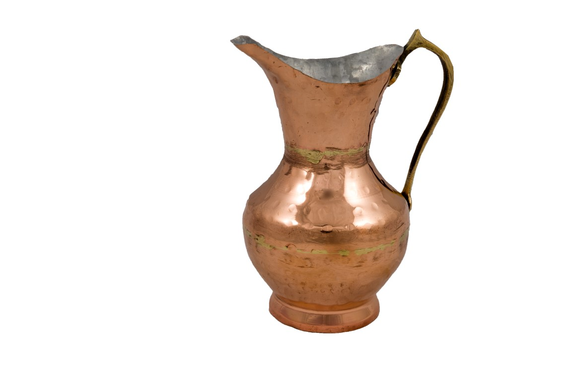 Copper Items - Copper Jug With Lips