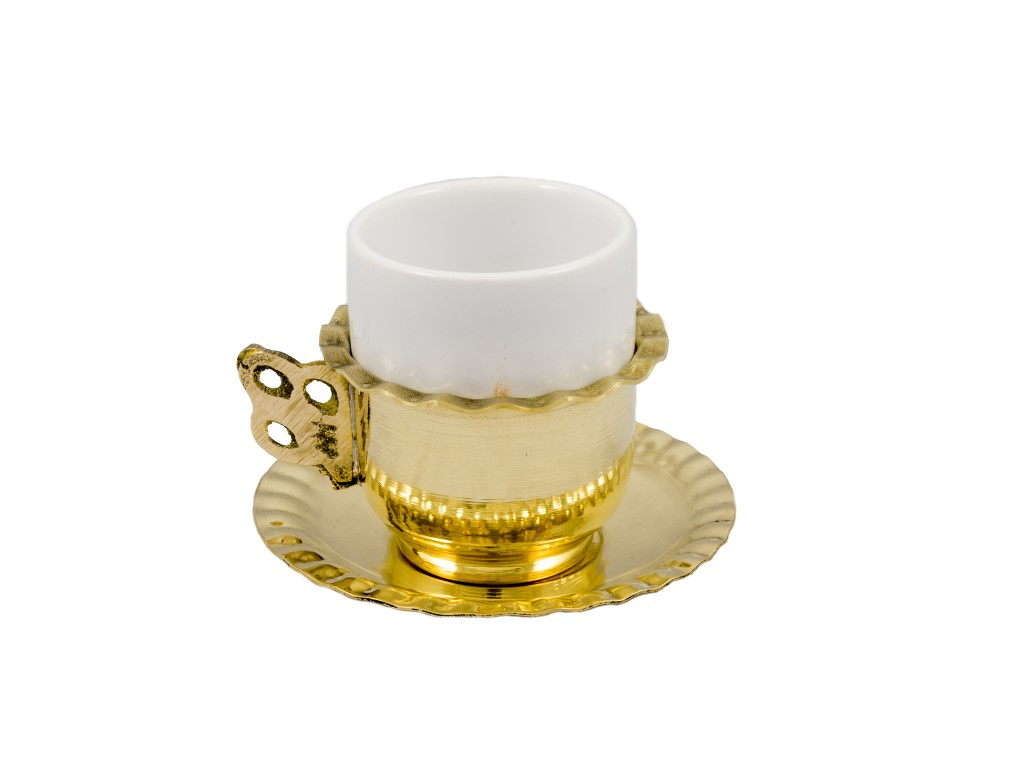 Brass Items - Brass Coffee Cup Set