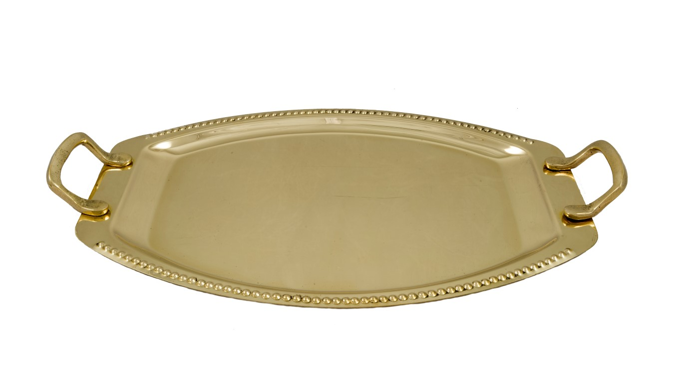Brass Items - Brass Oval Tray