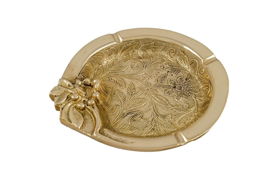 Brass Items - Brass Casted Ashtray
