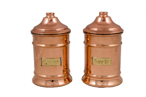 Copper Items - Copper Sugar Pot Single