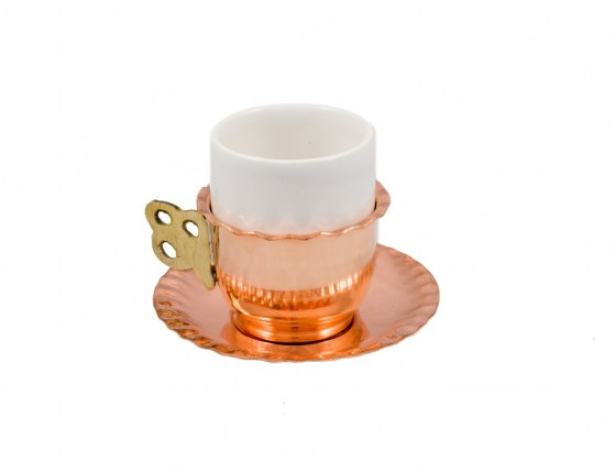 Copper Items - Copper Coffee Cup Set
