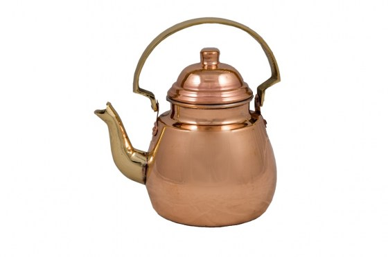 Copper Items - Copper Tea Pot