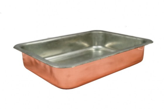 Copper Items - Copper Rectangular Cooking Pans
