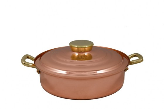 Copper Items - Copper Saute Pots