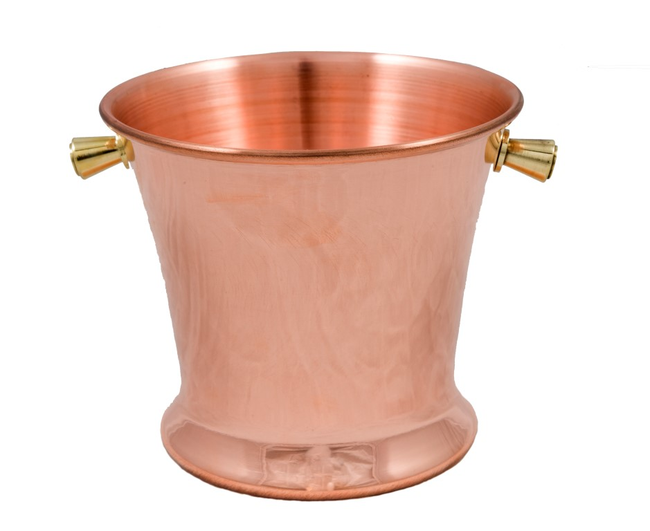Copper Item - Copper Conical Ice Cube Case