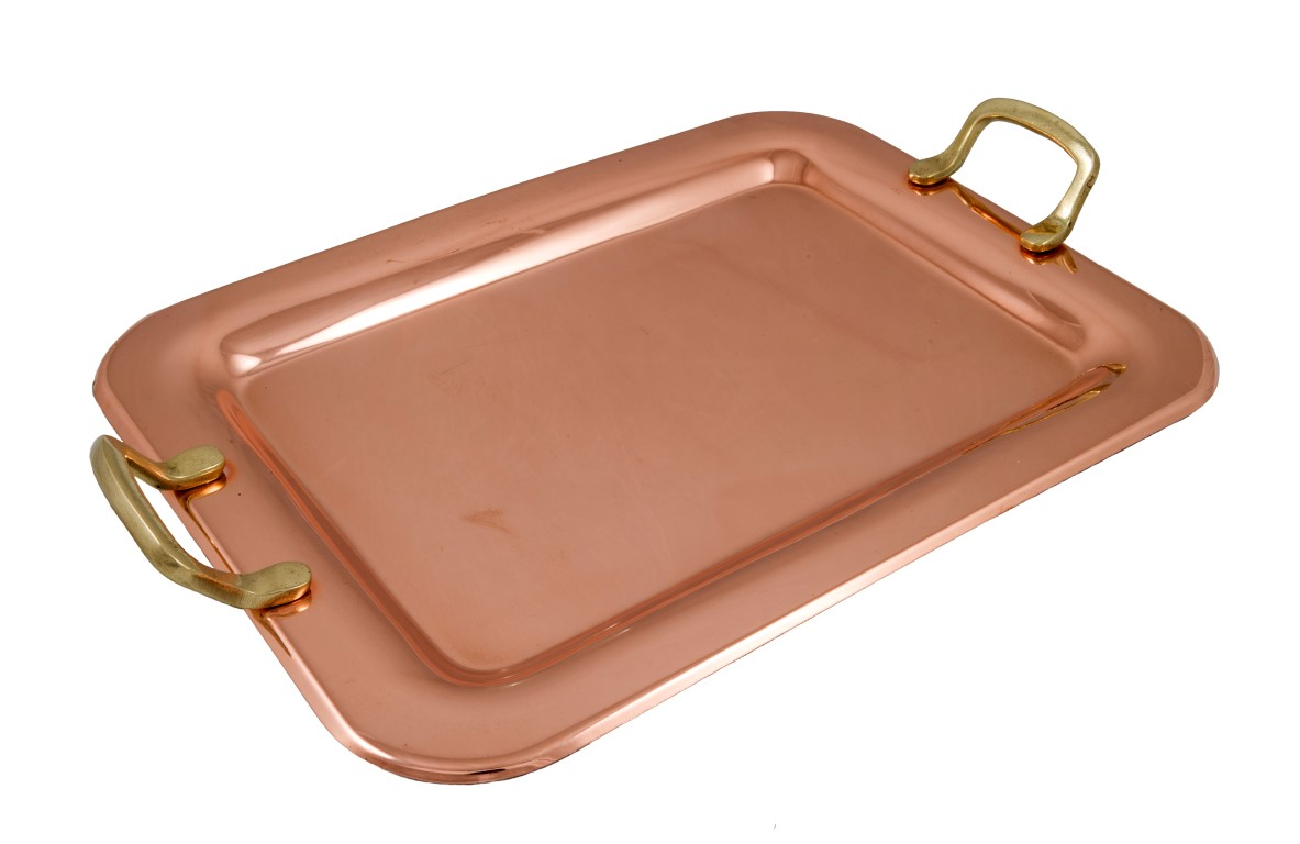 Copper Items - Copper Rectangle Trays